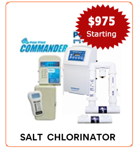 Salt Chlorinator digital commander