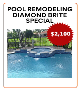 pool remodeling diamond brite special
