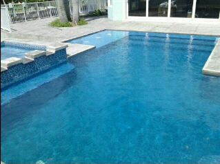 New pool construction pool spa remodeling pool decking for Pool design fort lauderdale